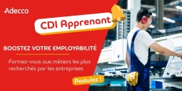 ADECCO- Contrat- Formation Technicien.ne de maintenance CDI apprenant 35H