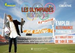 """Olympiades de l'Emploi"""" 2020 le 7 juillet de 14h à 17h"""