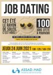 Grand Job Dating de l'ASSAD-HAD jeudi 24 juin 2021