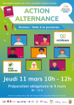 ACTION ALTERNANCE  en visio -  Secteur: AIDE A LA PERSONNE - JEUDI 11 MARS 10H - 12H