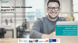 Webinaire: Le métier Responsable de secteur H/F UNISAP95