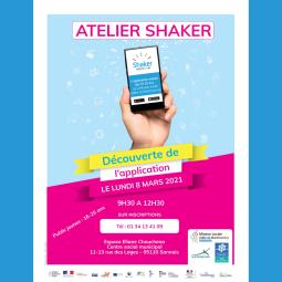 ATELIER SHAKER POUR LES 16-25 ANS