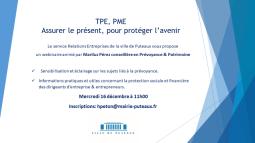 TPE/ PME, assurer le présent pour protéger l'avenir
